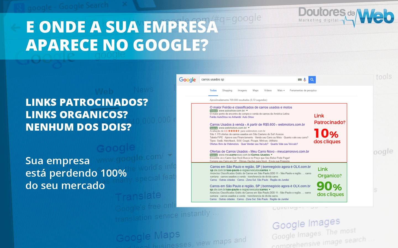 E Onde Sua Empresa Aparece No Google?